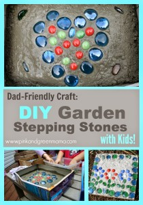 DIY-Garden-Stepping-Stones-Craft-For-Kids-Garden-Backyard-Project-Collage